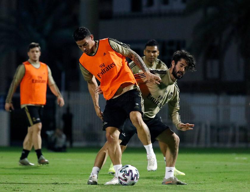Valencia - Real Madrid edzés