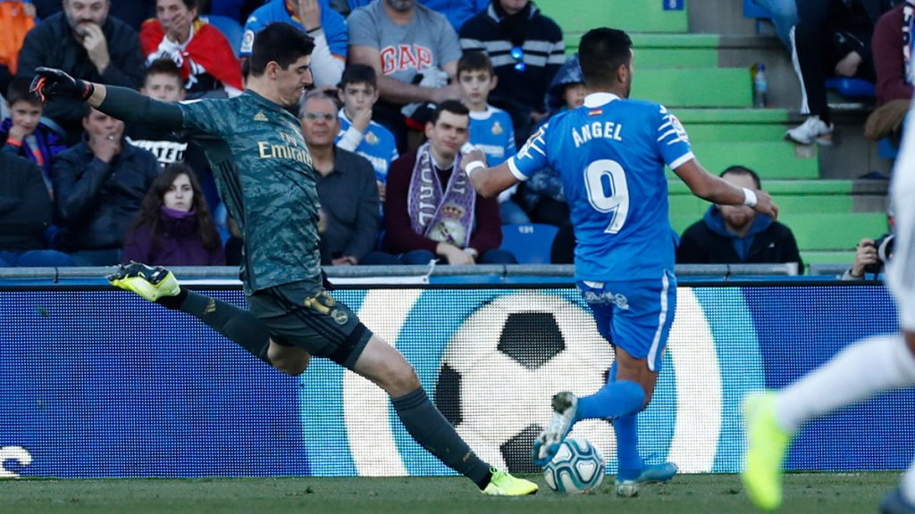 Getafe - Real Madrid Courtois