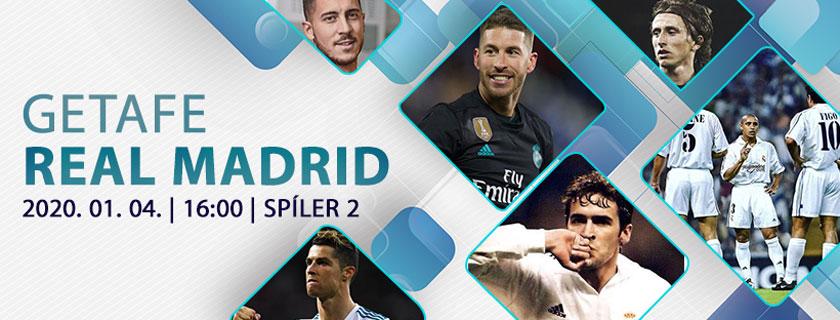 Bienvenido, 2020! (Getafe – Real Madrid beharangozó)