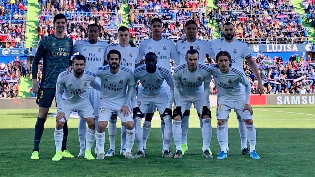 Getafe - Real Madrid kezdő