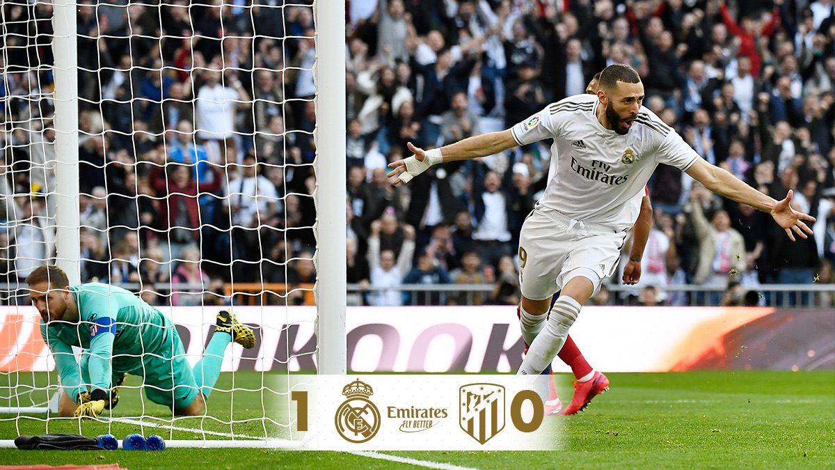 Csak egy Madrid van, az pedig habfehér!