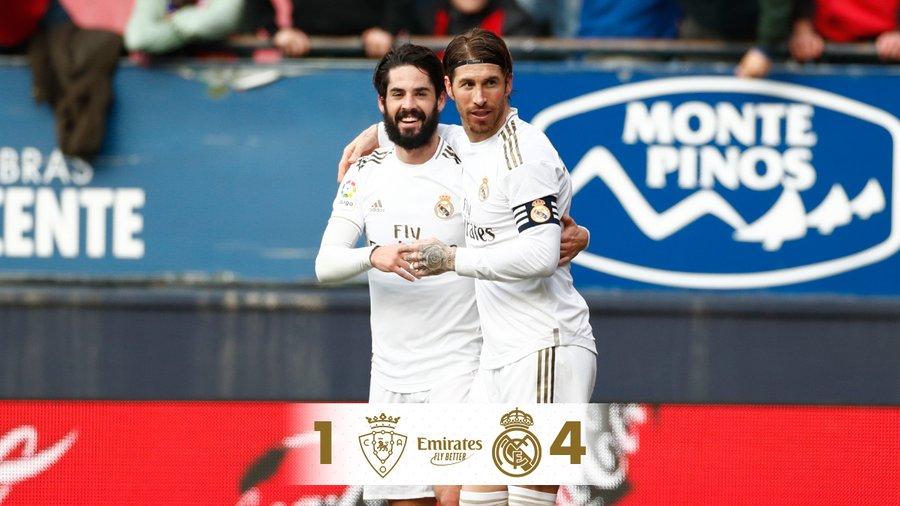 Visszatérés (Osasuna – Real Madrid)