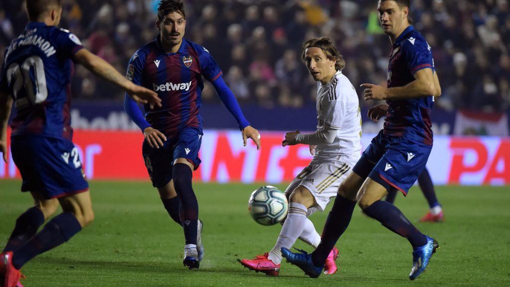 Levante - Real Madrid összefoglaló Modric