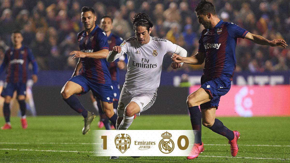 Levante – Real Madrid összefoglaló | Őrségváltás