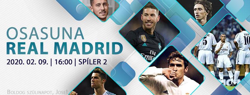 Visszarázódás (Osasuna – Real Madrid)
