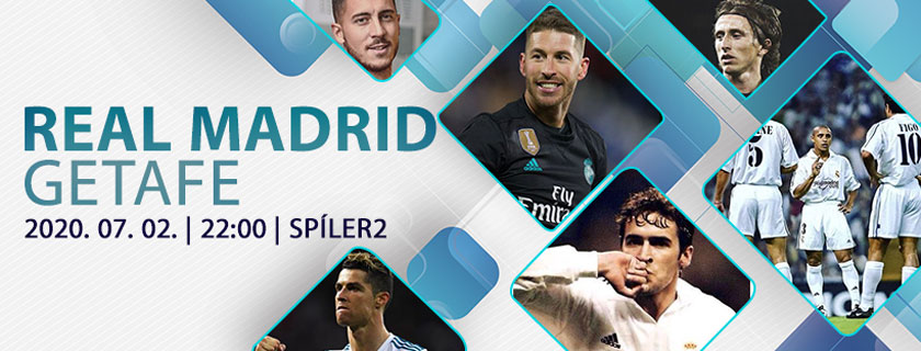 Real Madrid – Getafe | Mögöttünk üget a fenyegető ellenfél