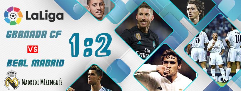 A siker kapujában: Granada- Real Madrid