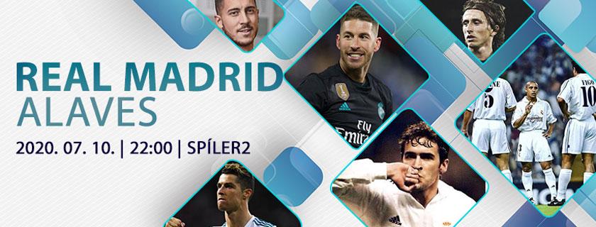 Gólkirály nélkül… (Real Madrid – Alaves)