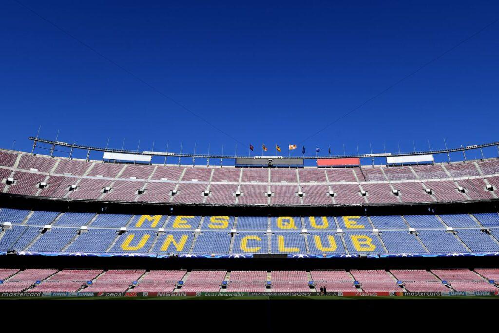 Leganes - Real Madrid Barca szlogen