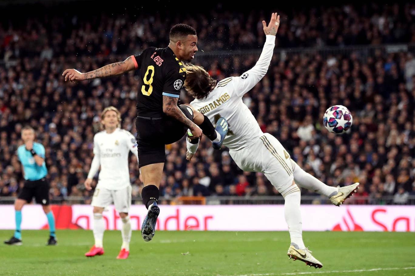 Ramos vesztes fejpárbaja