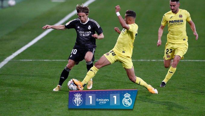 Értelmetlen döntetlen (Villarreal – Real Madrid)