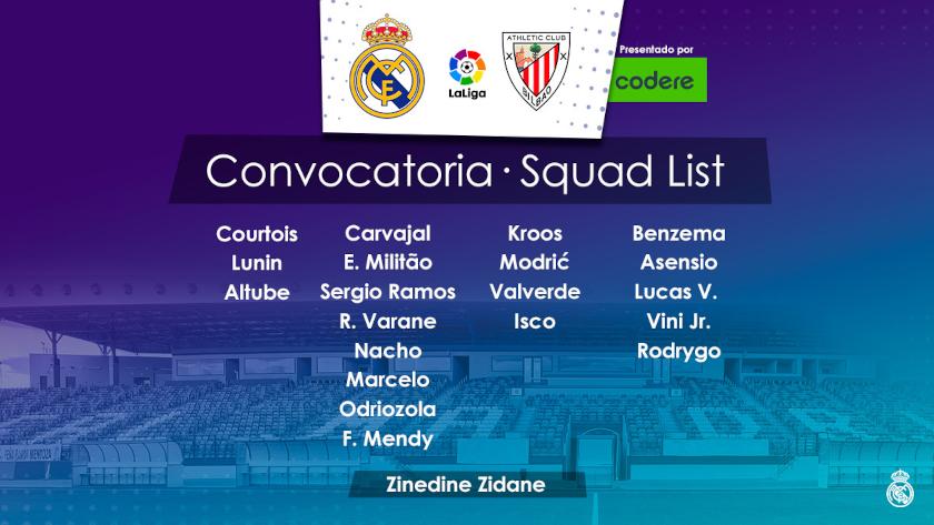 Real Madrid - Bilbao keret
