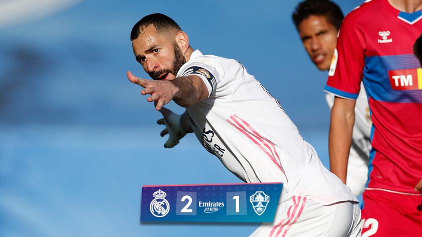 Kínkeserves győzelem | Real Madrid – Elche összefoglaló
