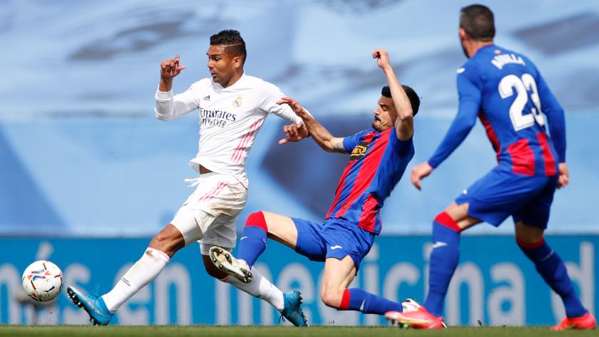 Real Madrid - Eibar összefoglaló Casemiro