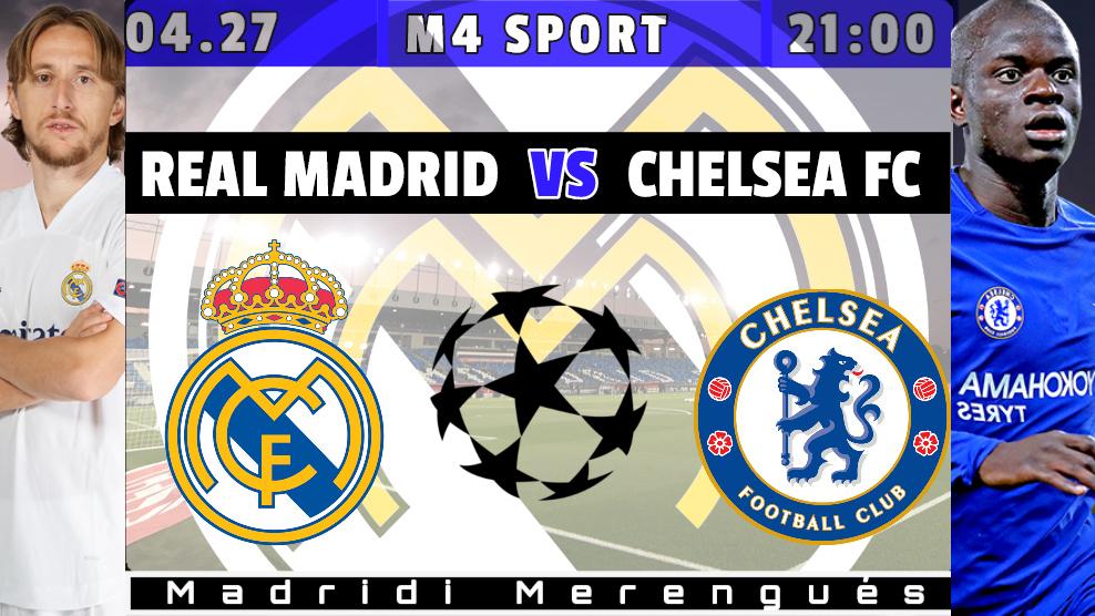Tuchel színre lép | Real Madrid – Chelsea
