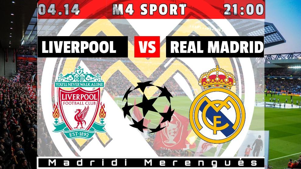 Irány a legjobb négy: Liverpool – Real Madrid (Beharangozó)