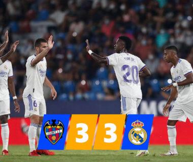 Levante - Real Madrid összefoglaló nyitókép